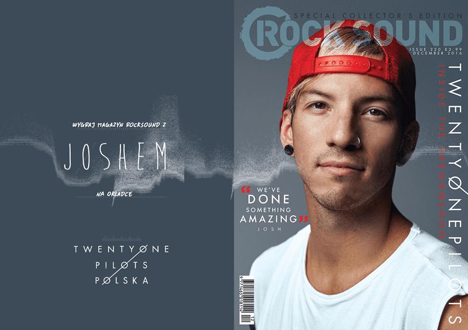 Wygraj magazyn Rock Sound z Joshem na okładce!