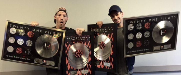 Każda piosenka z Blurryface co najmniej złota